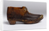 Child's clog, 1850s by unknown