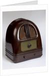 Philco Bakelite radio set, 1930s by unknown