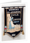 Lichfield Women's Co-Operative Guild banner by unknown