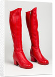 Knee-high boots by Clark's, c.1965 by unknown