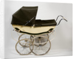 A 'Hubcar' pram, or baby carriage, 1960s by unknown