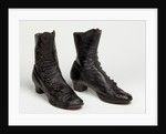 Victorian boots, c.1890 by unknown
