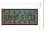 Christmas advert, Walsall Lithographic Co. Ltd. by unknown
