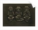 Three Wise Monkeys, Metcraft sign by unknown