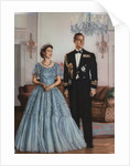Queen Elizabeth II and Prince Philip, printed by Walsall Lithographic Company Limited, 1950s by unknown