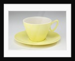 Gaydon Melmex cup and saucer, made by Streetly Plastics, 1960s by unknown