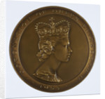 Metcraft plaque commemorating the Coronation of Queen Elizabeth II, Walsall Lithographic Company Limited, 1953 by unknown