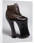 Victorian orthopaedic shoe by unknown