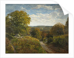 A Surrey Landscape, 1820 - 1884 by Frederick William Hulme