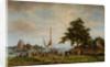 Loading Boats, 1866 by Hermanus Koekkoek Snr