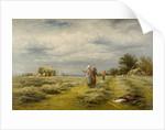 Haymaking, 1876 by Benjamin Williams Leader