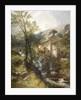 Watermill Near Lyton, Devon, 1874 by Edwin Alfred Pettitt