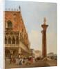 Ducal Palace, Venice, 1840 by David Roberts