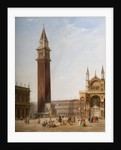 St Mark's Square, Venice, 1840 by David Roberts