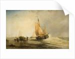 On The Dutch Coast, 1830 - 1895 by James Webb